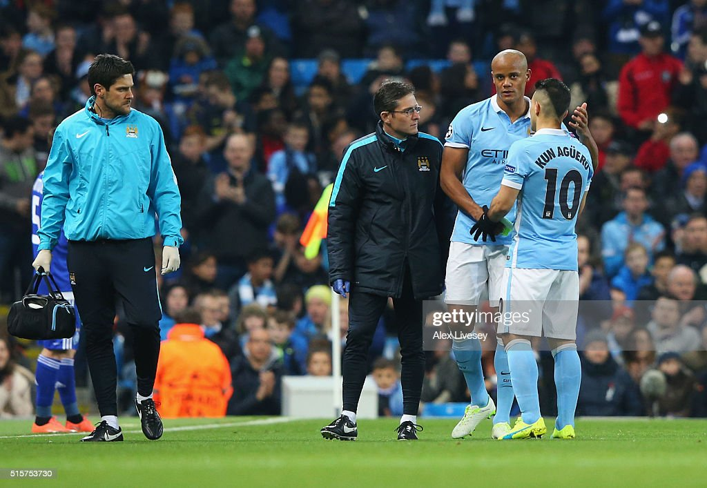 Manchester City FC v FC Dynamo Kyiv - UEFA Champions League Round of 16: Second Leg : News Photo