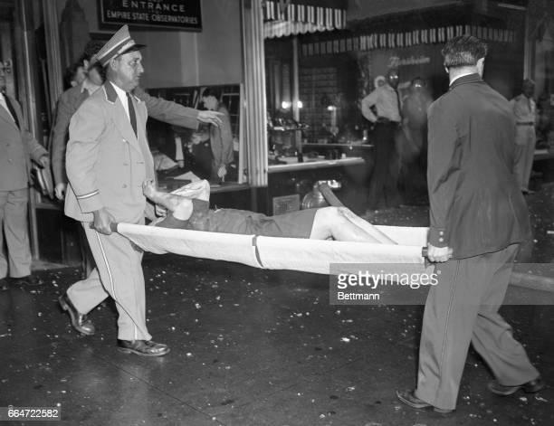 Photograph New York Empire State Building  B-25 Airplane Crash Year 1945  8x10