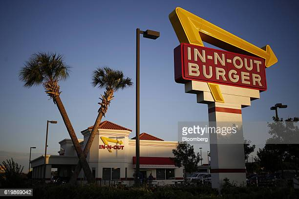 An InNOut Burger restaurant stands in Fort Worth Texas US on Monday Oct 24 2016 Good Food Institute has started a petition to pressure InNOut Burger...