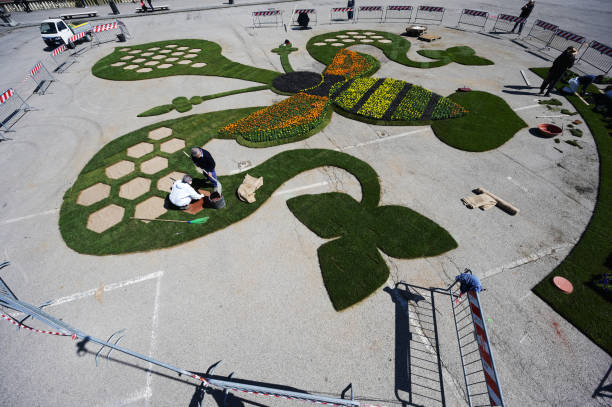 ITA: Art Installation Encourages Awareness On Urban Green Spaces