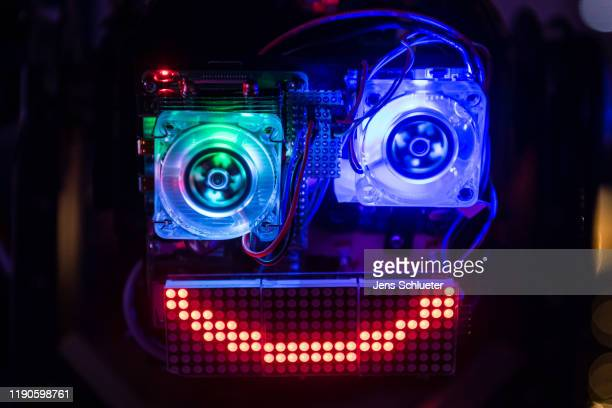 An installation on the first day of the 36C3 Chaos Communication Congress on December 27, 2019 in Leipzig, Germany. The four-day event under the...