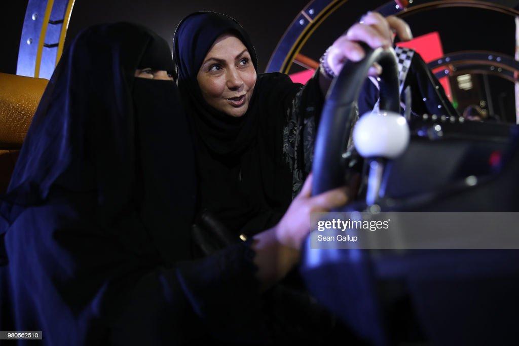 Saudi Women Prepare To Drive As Ban Nears End : ニュース写真