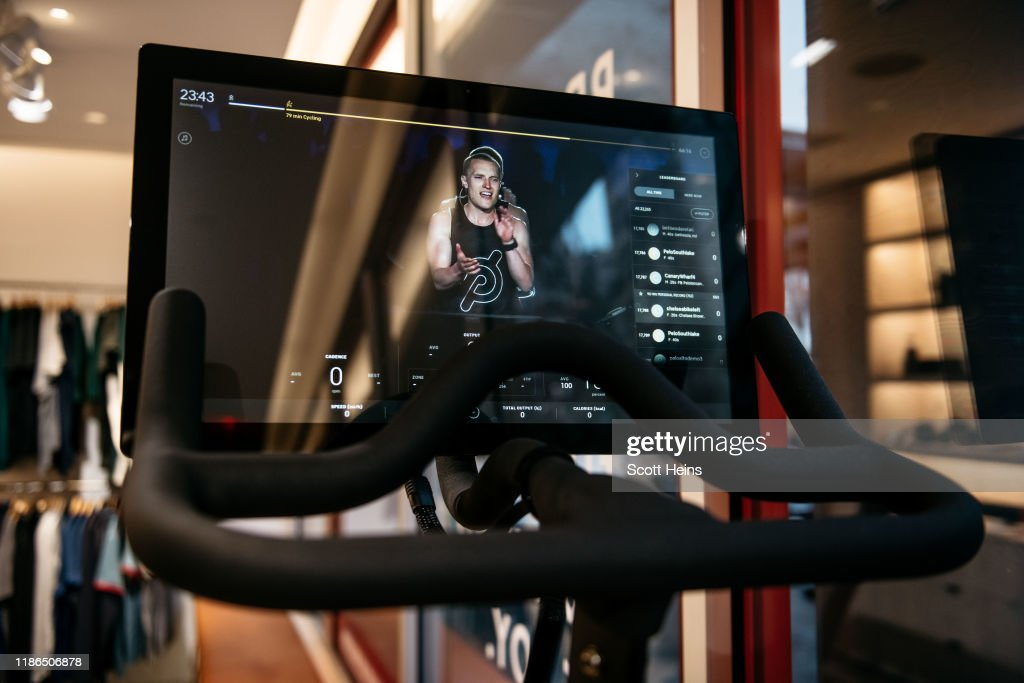 New Peloton Holiday Ad Ignites Online Controversy : News Photo