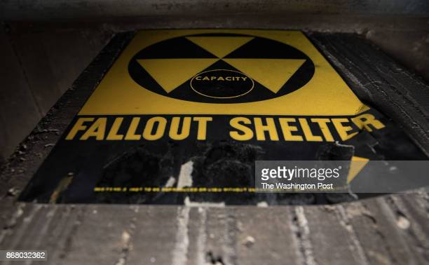 An intact fallout shelter dating from 1962 under the Adams bilingual school campus in Adams Morgan September 22 2017
