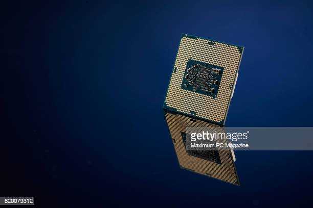 An Intel Core i77700K CPU taken on November 17 2016
