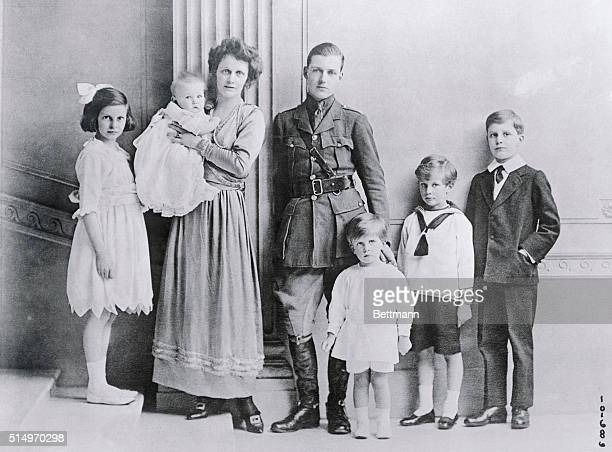 An interesting photo of Lady Astor and her family. Lady Astor is the former Nancy Langhorne of Virginia and is Unionist candidate for a seat in the...