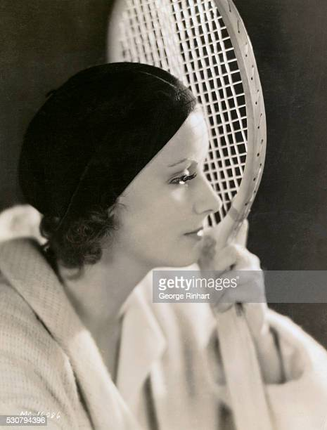An interesting study of Greta Garbo This especially so as Garbo is said to be an excellent tennis player