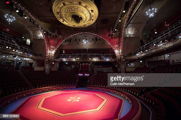 An interior photograph of the Tower Circus in the seaside resort of Blackpool Lancashire The town has launched another regeneration plan to help...