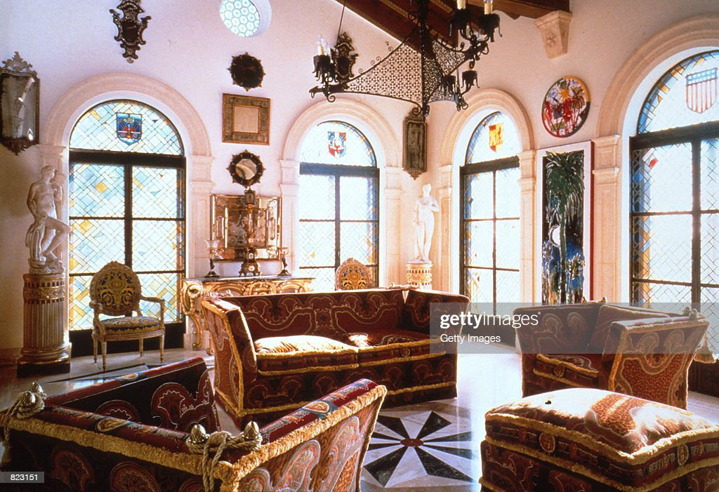 An Interior E From The Miami Home Of Ed Designer Gianni Versace Sotheby S Is Auctioning