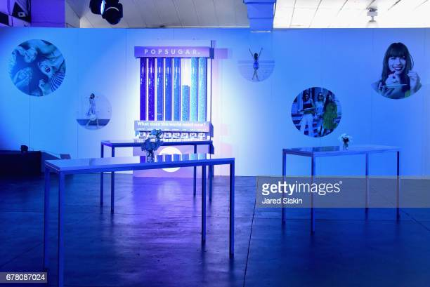 An interior view at POPSUGAR 2017 Digital NewFront at Industria Studios on May 3 2017 in New York City