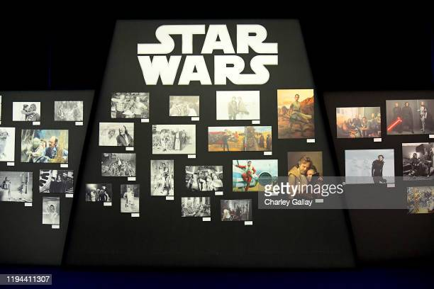 "An interior view at the World Premiere of ""Star Wars: The Rise of Skywalker"", the highly anticipated conclusion of the Skywalker saga on December 16,..."