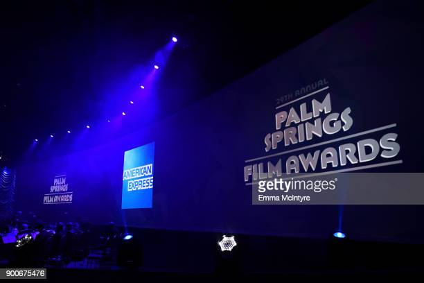 An interior view during the 29th Annual Palm Springs International Film Festival Awards Gala at Palm Springs Convention Center on January 2 2018 in...