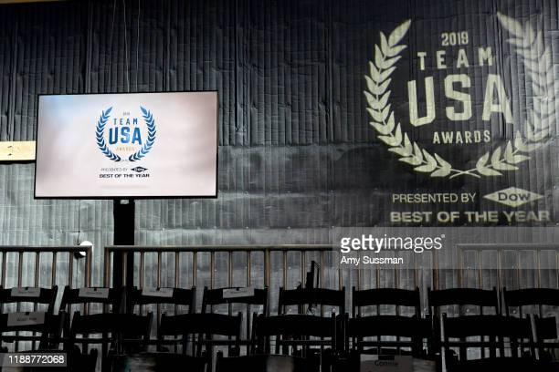 An interior view is seen at the 2019 Team USA Awards at Universal Studios Hollywood on November 19 2019 in Universal City California