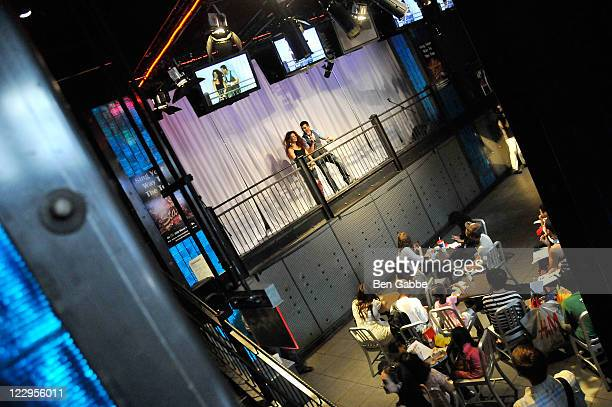 An interior view of atmosphere at 'The Next Broadway Star' kick off launch at McDonald's on August 29 2011 in New York City