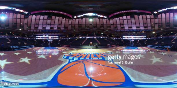 An interior view of Madison Square Garden in New York New York on April 6 2017 NOTE TO USER User expressly acknowledges and agrees that by...