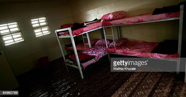 An interior view of one of the cells at the newly opened Baghdad Central Prison in Abu Ghraib on February 21 2009 in Baghdad Iraq The Iraqi Ministry...