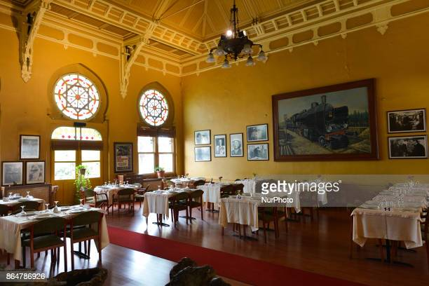 An interior view of Orient Express Restaurant at Sirkeci terminal. On Tuesday, 17 October 2017, in Istanbul, Turkey.