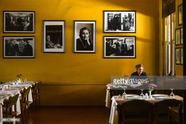 An interior view of Orient Express Restaurant at Sirkeci terminal On Tuesday 17 October 2017 in Istanbul Turkey