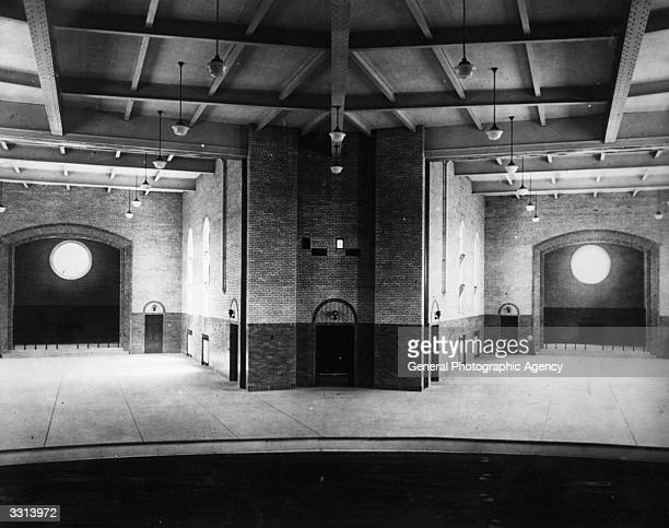 An interior view of Sing Sing Prison near New York