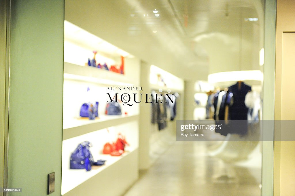 new product 80bf6 86376 An interior view of the Alexander McQueen New York Flagship ...