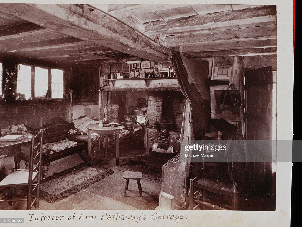 Ann Hathaway's Cottage: Interior : Fotografía de noticias