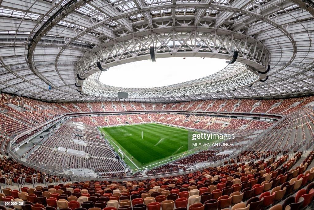 FBL-WC-2018-RUS-STADIUM : News Photo