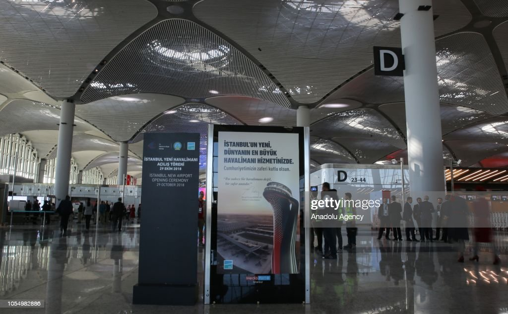 Opening of New Airport in Istanbul : News Photo