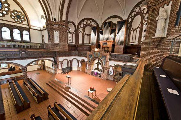 DEU: Passionskirche Remains Closed Due To Coronavirus Lockdown