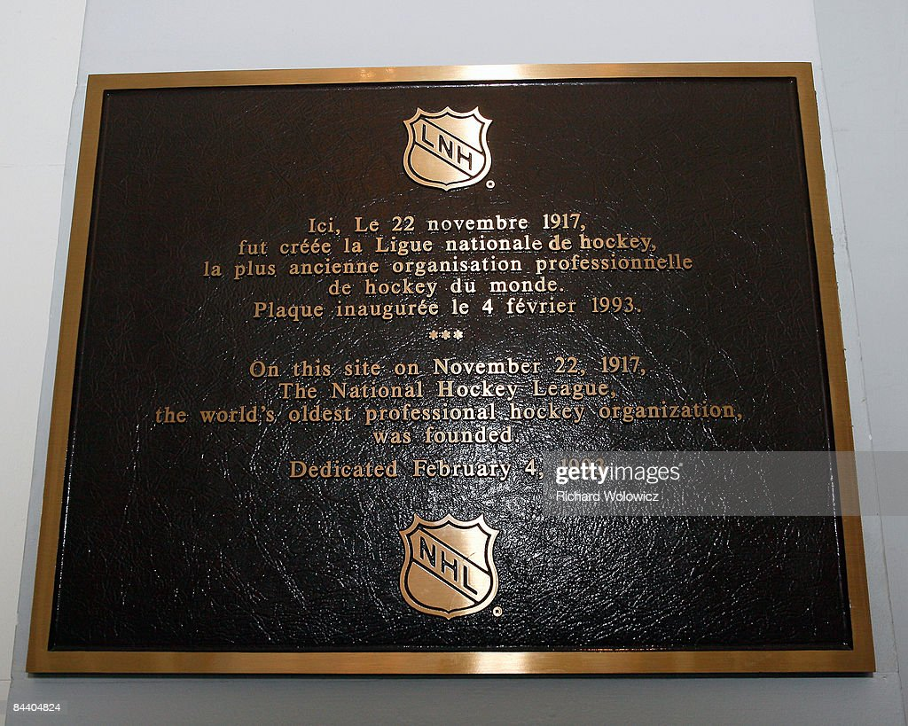 2009 Montreal All-Star Game Historical Sites : News Photo