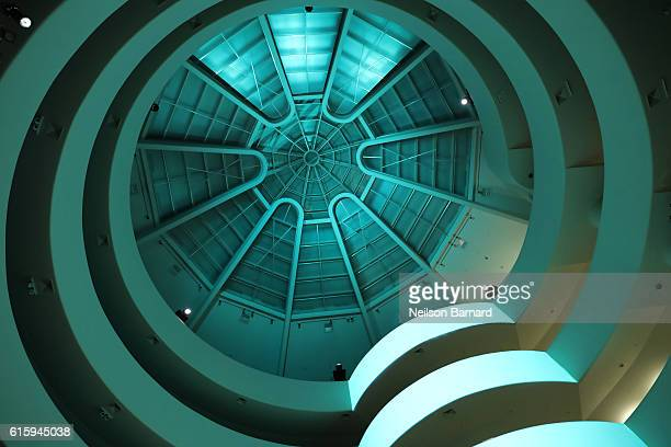 An interior view of the Solomon R. Guggenheim Museum during HUGO BOSS and GUGGENHEIM celebration of the 20th Anniversary of the HUGO BOSS Prize at...