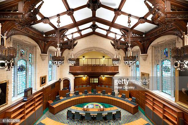 An interior view of the Supreme Court on September 13 2016 in London England