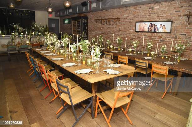 An interior view of the venue as Aerie celebrates #AerieREAL Role Models in NYC on January 31 2019 in New York City