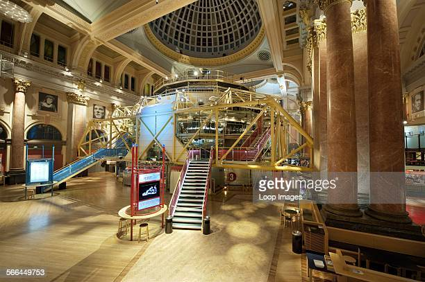 An internal view of the Royal Exchange Theatre in Manchester