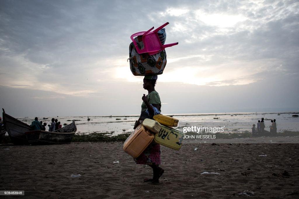 TOPSHOT-DRCONGO-UNREST : News Photo