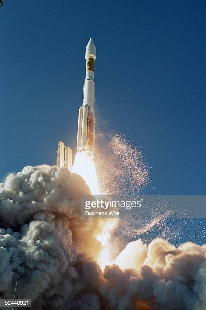 An International Launch Services Atlas V rocket lifts off from Cape Canaveral, Florida to deliver the Inmarsat 4-F1 satellite into orbit. This was...