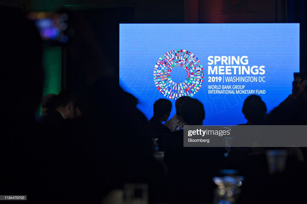 An International Monetary Fund and World Bank spring