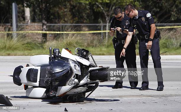 HILLS CA SEPTEMBER 15 2014 An investigation is underway into an accident where a California Highway Patrol motorcycle officer was injured Monday in...