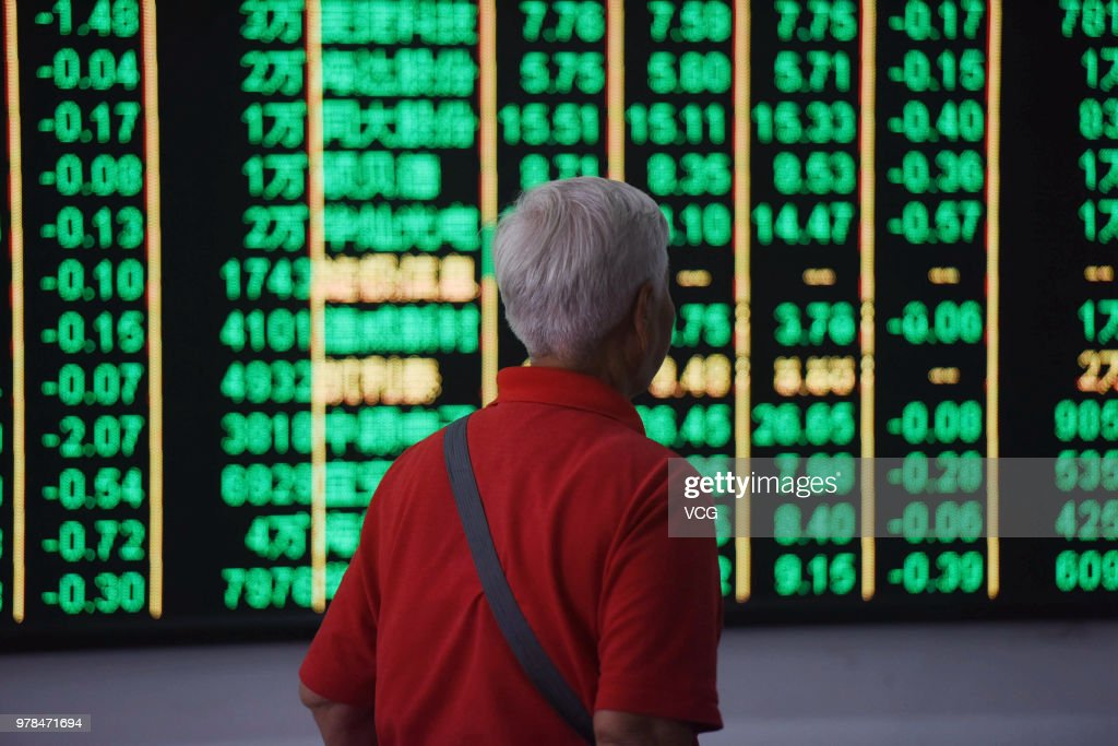 China Stocks Plunge On Tuesday