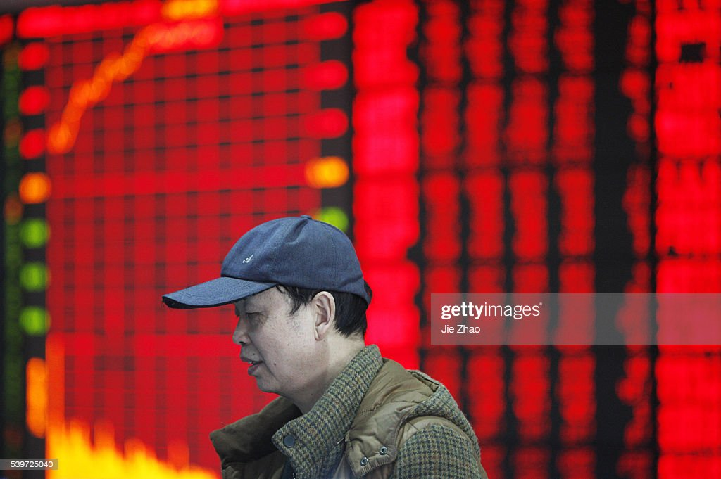 China stocks jump : News Photo