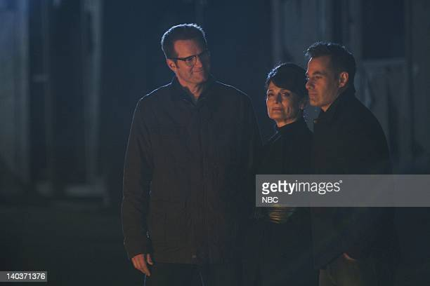 HEROES An Invisible Thread Episode 325 Airdate Pictured Jack Coleman as HRG Cristine Rose as Angela Petrelli Adrian Pasdar as Nathan Petrelli Photo...