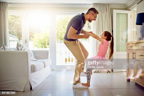 an involved father is an influential father - family home stock photos and pictures