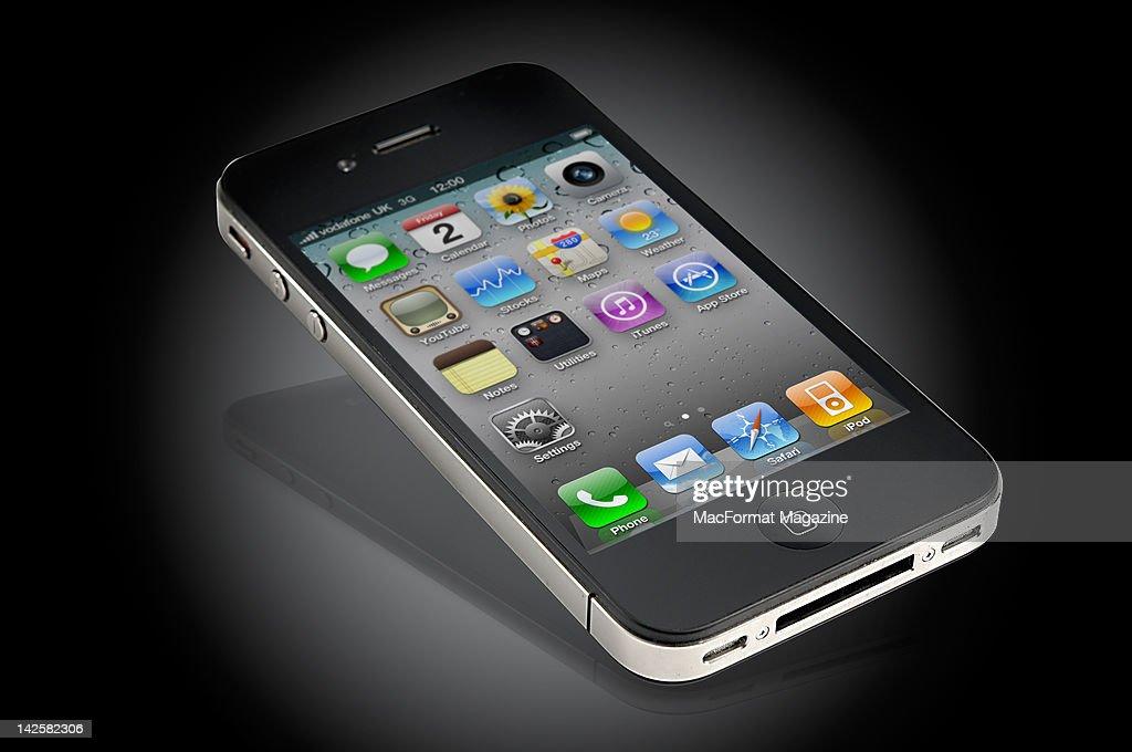 An iPhone, Bath, October 12, 2011.