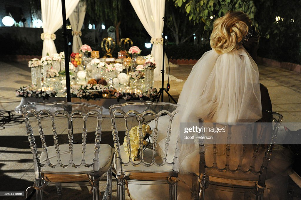 Luxury Weddings Boom In Iran : News Photo