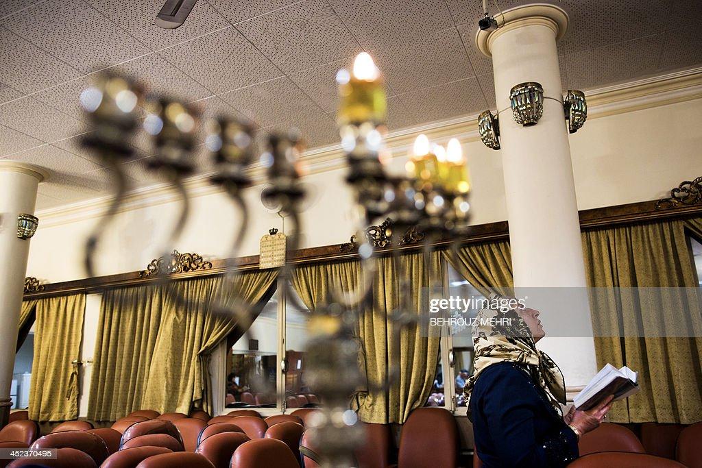 IRAN-JEWS-HANUKKAH : News Photo