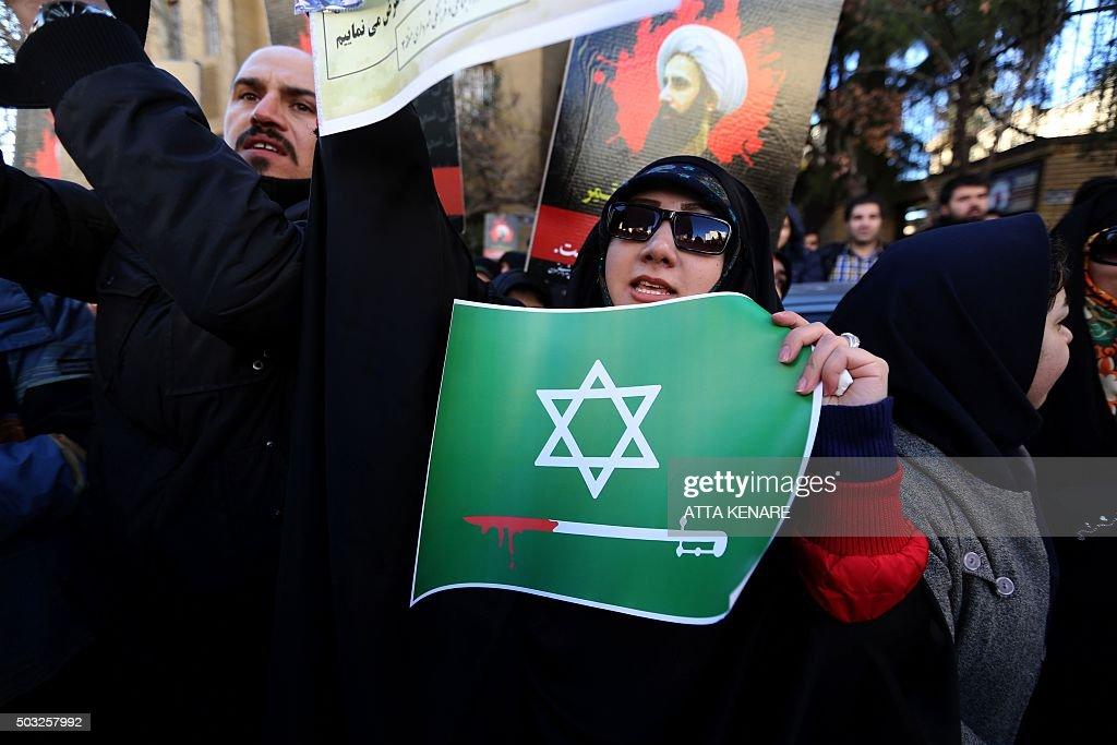 IRAN-SAUDI-EXECUTION-RELIGION-DEMO : News Photo