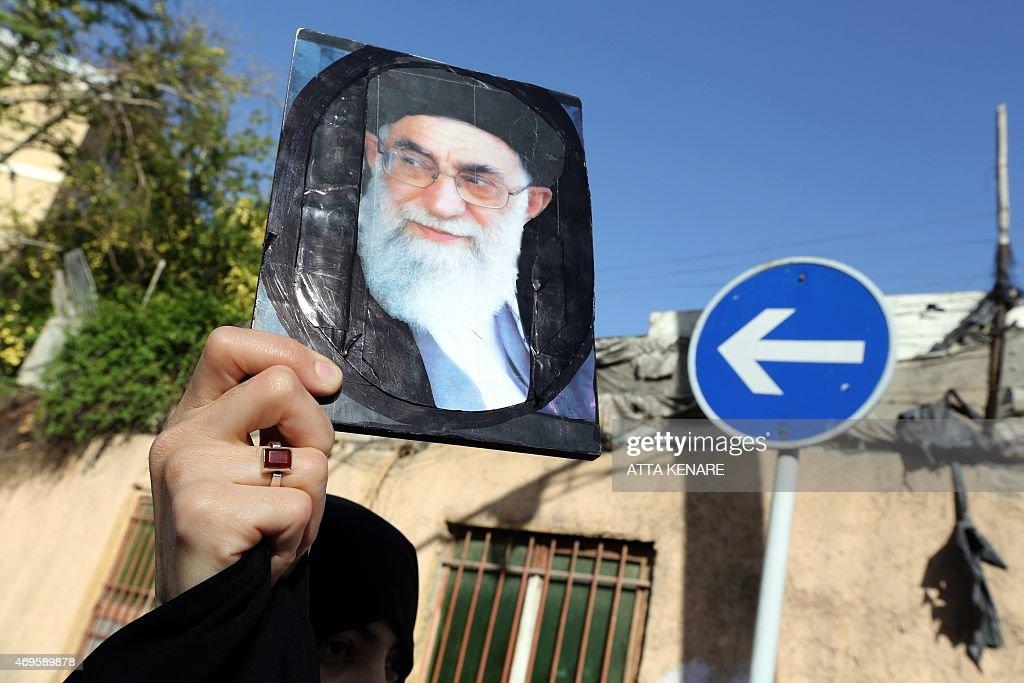 IRAN-SAUDI-YEMEN-CONFLICT-DEMO : News Photo