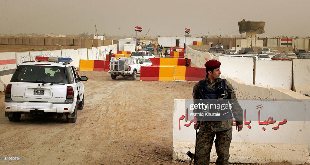 Iraq Reopens the Notorious Abu Ghraib Prison as Baghdad Central Prison : News Photo