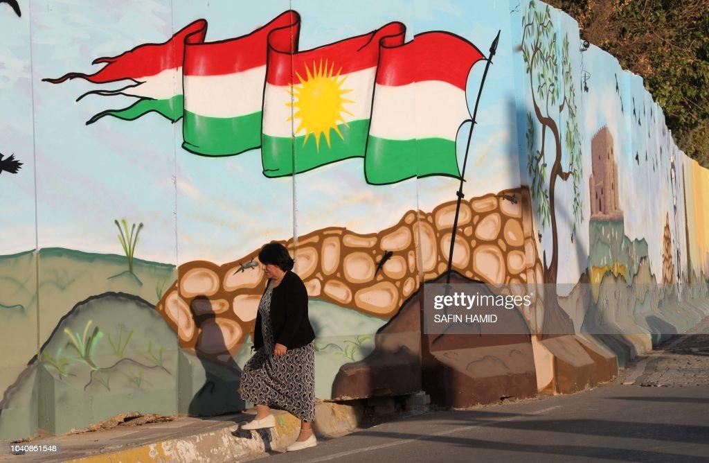 IRAQ-VOTE-KURDS : News Photo