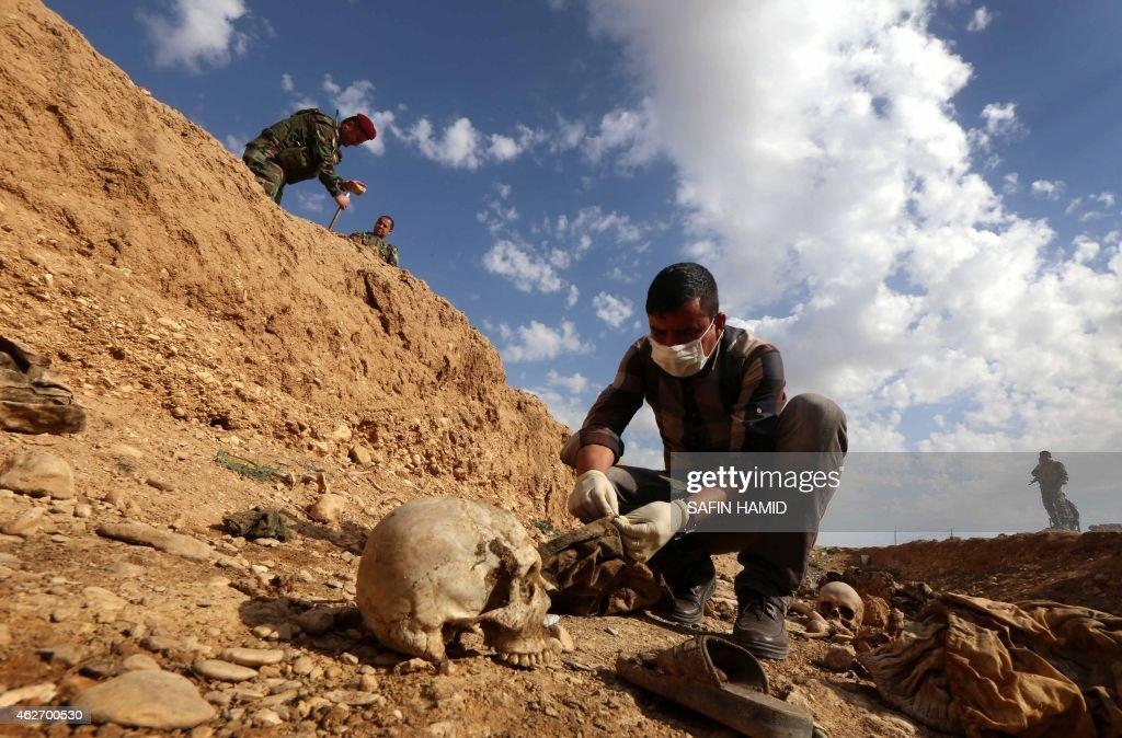 IRAQ-CONFLICT-IS-YAZIDIS : News Photo