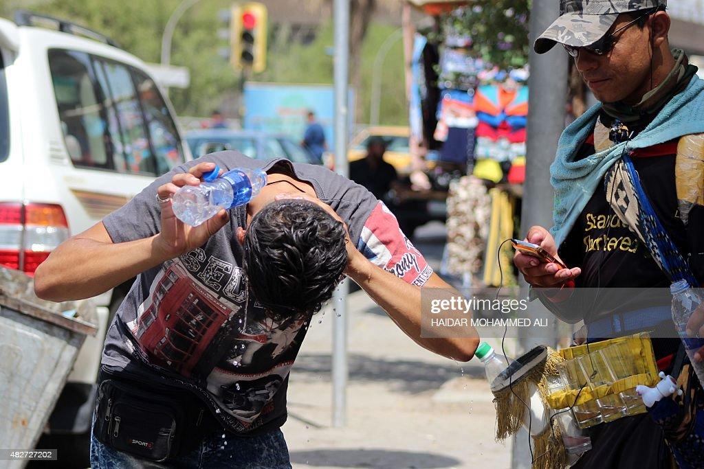 IRAQ-WEATHER : News Photo